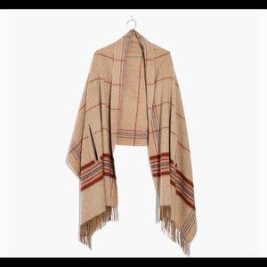 Madewell cape scarf